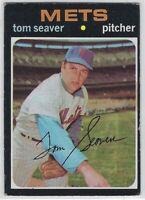 1971 TOPPS TOM SEAVER CARD #169 NEW YORK METS