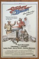 Burt Reynolds Signed Smokey And The Bandit 11x17 Movie Poster Certificate HOLO