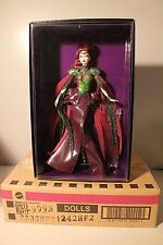 2012 Empress of the Aliens - Gold Label BARBIE Doll HTF Greening + Shipper NRFB