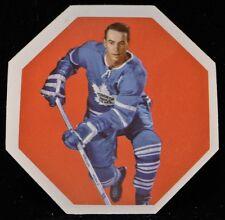 1961-62 YORK PEANUT BUTTER HOCKEY CARD #19 Bert Olmstead, Toronto Maple Leafs