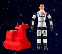 Vintage 1968 Mattel Major Matt Mason Black Strap Action Figure Astronaut Rare