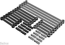 Lego Steering LINKS Kit (axle,ball,joint,pin,arm,towball,socket,racer,car,servo)