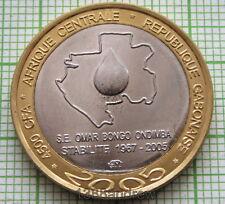 Sheep CHAD lot 5x 4500 CFA 2005 bimetal unusual coinage