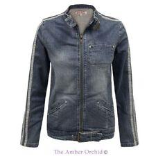 Cotton Motorcycle Machine Washable Coats & Jackets for Women