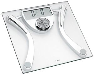 Weight Watchers 8977U Bathroom Glass Body Fat Analysis Scale RRP£59.99