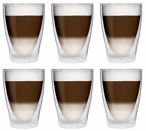 THERMO COCKTAIL LATTE MACCHIATO GLÄSER SET 1 - 24tlg. DOPPELWANDIG THERMO-GLAS