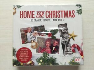 Home for Christmas Various Artists CD Box Set 3 discs (2018) NEW & SEALED