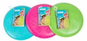 Dog Training Soft Frisbee Throwing, Flying Disc Pet Dog Fetch Silicone Toy 16cm