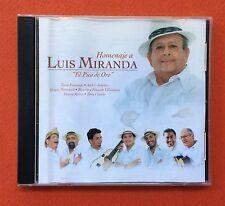 Homenaje A Luis Miranda El Pico de Oro CD Navidad 2004 QD Puerto Rico  MINT