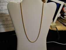 "Estate Necklace 14k Yellow gold 20"" Chain 14kt gold Not scrap Jewelry 4.2 gr 69"