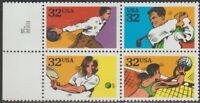 Scott# 2961, 63-65 - 1995 Commemoratives - 32 cents Recreational Sports Block