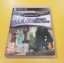 Classic HD Ico & Shadow of The Colossus GIOCO PS3 VERSIONE ITALIANA