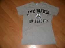 Ave Maria University Crest Seal T Shirt Small AMU Naples FL Ypsilanti MI Gyrenes