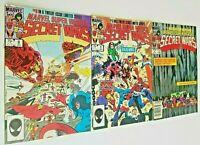 Marvel Super-Heroes Secret Wars #'s 4,5,9 (Return of Suit) 1984 (3 Book Lot)  FN