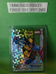 2020 Upper Deck Marvel Ages Decades Insert 1990's Wolverine