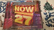 NOW THAT'S WHAT I CALL MUSIC #27 CD FREE SHIPPING VERY GOOD CONDITION