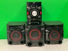 Lg Cm4550 700W 2.1ch Mini Shelf System w/ Built-in Subwoofer and Bluetooth -Used