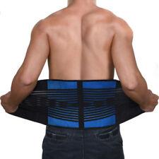 Fasce, cinture e busti bretelle e supporti blu senza marca per ortopedia