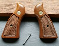 Factory Wood Smith and Wesson N Frame Magna Pistol Grips