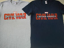 NICE CAPITAN AMERICA NUOVO 2x Bundle Uomini T-shirt Tee Taglia M Medium