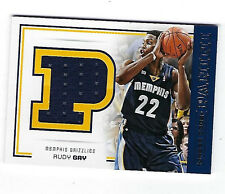 2012-13 PANINI BASKETBALL DRESS CODE #41 RUDY GAY JUMBO JERSEY CARD