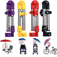 Adjustable Bike Wheelchair Stroller Chair Umbrella Connector Holder Mount Stand