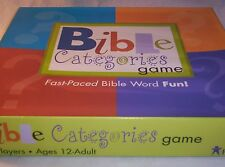 Bible Categories Game Age 12+ and 100 Piece Puzzle God Loves All  6+ Boys Girls