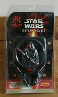 Star Wars Episode 1 Darth Maul CD Player New and Sealed 1999 Tiger Electronics