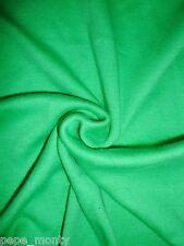 100% Cotton Interlock Jersey Fabric Tubular Width By The Meter INTT63 Free P&P