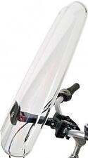 Polisport Fahrrad Windschild Windschutzscheibe Scheibe mit Lenkerhalterung