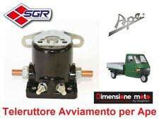 8677 - Relè/Teleruttore Avviamento SGR per Piaggio Ape TM P703 - 220cc dal 1984