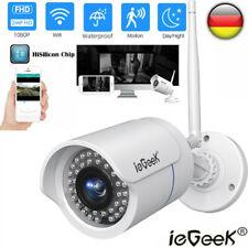 ieGeek 1080P HD WIFI IP NETZWERK CAMERA FUNK WLAN AUßEN ÜBERWACHUNGSKAMERA ONVIF