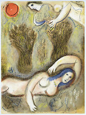 Marc Chagall original Bible lithograph 349764521