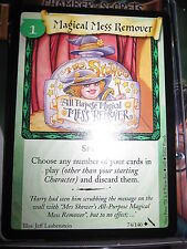 HARRY POTTER TCG CARD CHAMBER OF SECRETS MAGICAL MESS REMOVER 74/140 UNCO MINT