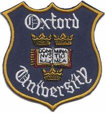 Oxford University Crest Bestickt Aufnäher - Offiziell Handelsware