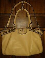 Coach Madison Leather Sophia Satchel 18602 purse shoulder bag tote