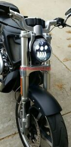LED Headlight Harley Davidson V-Rod VRod (BLACK) .......... FAST USA SHIPPING!