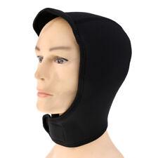 2mm Black Neoprene Scuba Water Sports Mask Diving Hat Swim Surfing Hood Cap