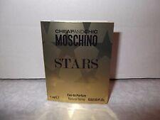 Women's  Moschino Stars 1 x 1 ml  Eau De Parfum Sample Spray.New Item Free Post