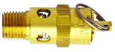 """Air compressor ASME safety valve •1/4"""" MNPT, 200PSI pop off, 170 CFM S-1090-200"""