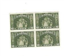 Canada 1934 Loyalists #209 Block of 4 MNH VF $320