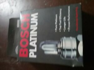 Spark Plug-Platinum Bosch 4220 set of 4