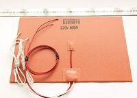 600W 220V 20X30cm,Silicone Heater Pad,3D Printer HeatBed,w/3M PSA & Thermistor