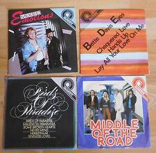 Rda vinyle Amiga 4 x quatuor + + Mixed l'émotivité semble + Middle of the road + internat