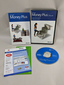 Microsoft Money Plus Deluxe With product key 2007 Financial planning software