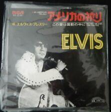 Elvis Presley si, in American Trilogy Giappone Rock N Roll