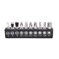 Electric Screwdriver Set Multi-Functional Versatile 10pcs Alloy Steel Bits  IY