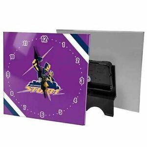 Melbourne Storm Mini Glass Clock