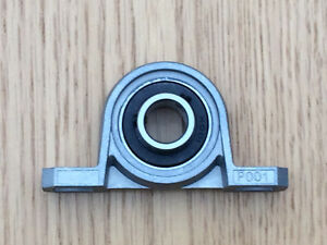 KP001 Pillow Block Mounted Ball Bearing 12mm Bore Diameter CNC 3D Printer