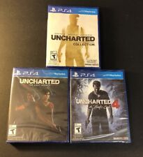 Uncharted Complete Collection  [  1 + 2 + 3 + 4 + The Lost Legacy ] (PS4) NEW